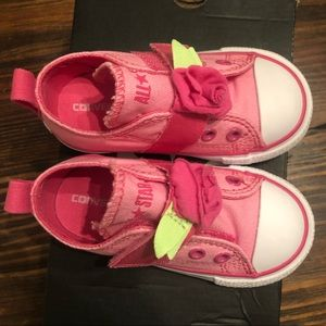 Brand New Toddler Converse Shoes (size 6)